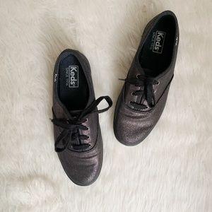 ⭐️ Keds Black Metallic Champion Sneakers ⭐️